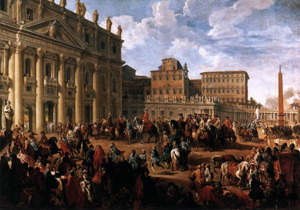 giovanni_paolo_pannini_-_charles_iii_at_st_peters_-_wga16967