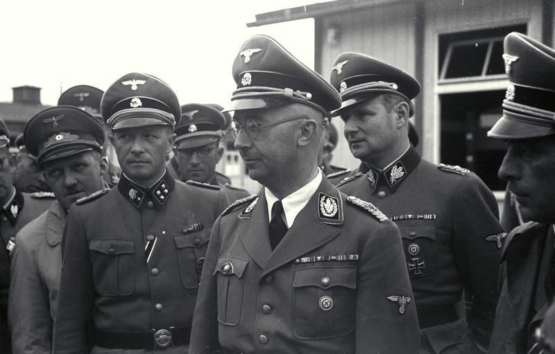 KZ Mauthausen, Besuch Heinrich Himmler
