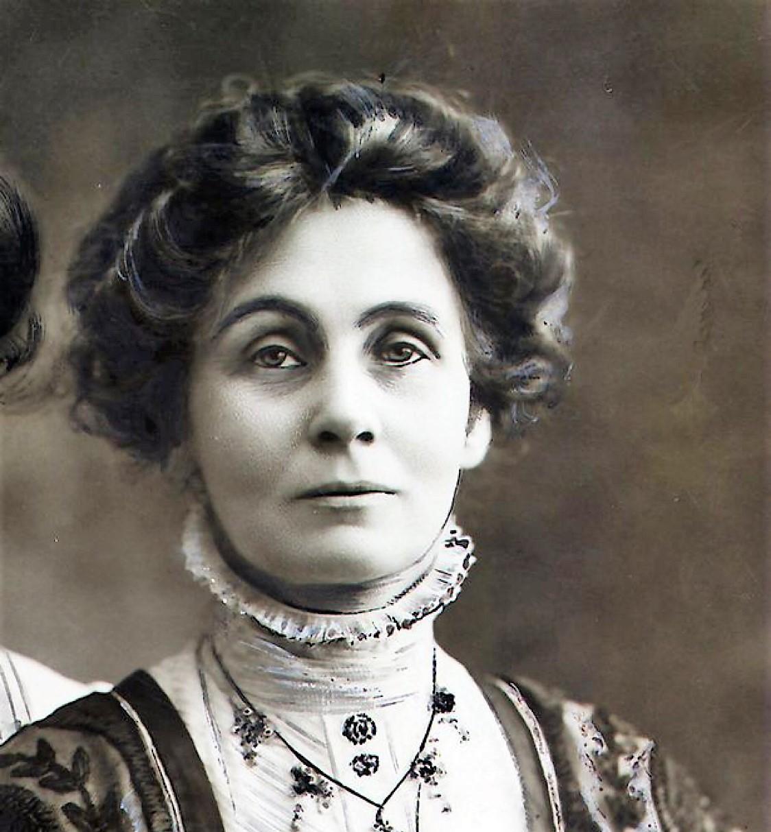 mujeres historia Emmeline Pankhurst